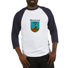 Montserratian Coat of Arms Se Baseball Jersey