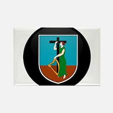 Coat of Arms of Montserrat Rectangle Magnet