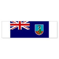 Montserrat Flag Bumper Bumper Sticker