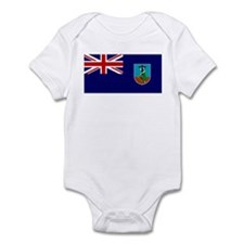 Montserrat Flag Infant Bodysuit
