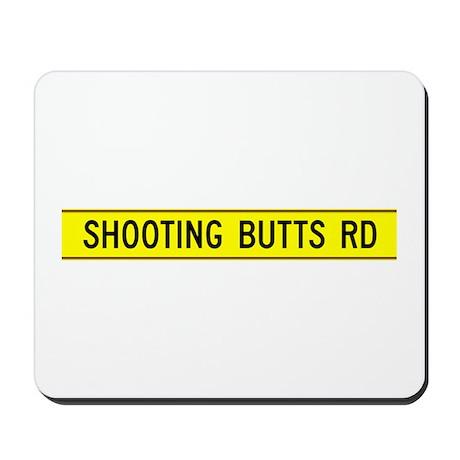 Shooting Butts Road, UK Mousepad