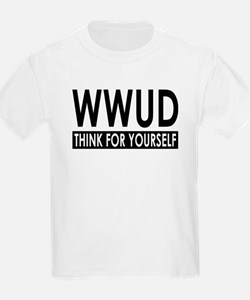WWUD - Think For Yourself Kids T-Shirt