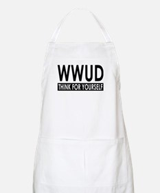 WWUD - Think For Yourself BBQ Apron
