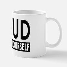 WWUD - Think For Yourself Small Small Mug