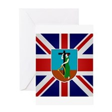 Montserratian Greeting Card