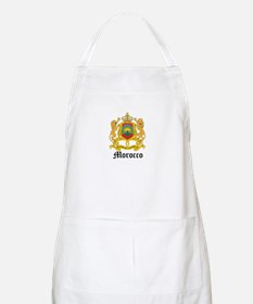 Moroccan Coat of Arms Seal BBQ Apron