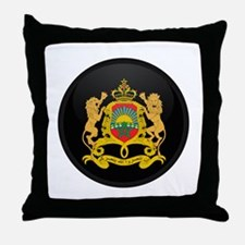Coat of Arms of Morocco Throw Pillow