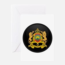 Coat of Arms of Morocco Greeting Card