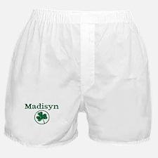Madisyn shamrock Boxer Shorts