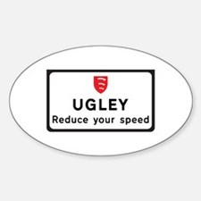 Ugley, UK Oval Decal