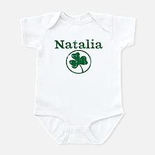 Natalia shamrock Infant Bodysuit