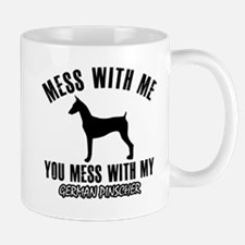 German Pinscher dog breed designs Mugs
