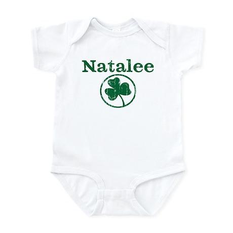 Natalee shamrock Infant Bodysuit