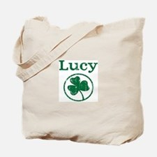 Lucy shamrock Tote Bag