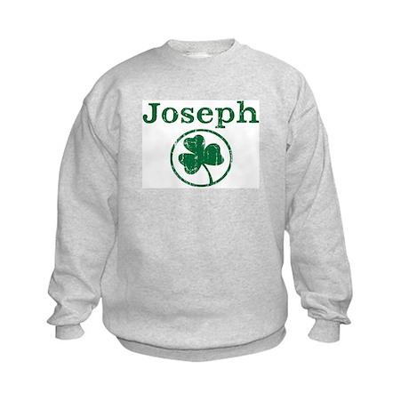 Joseph shamrock Kids Sweatshirt