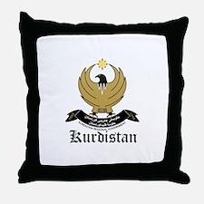 kurd Coat of Arms Seal Throw Pillow