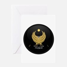 Coat of Arms of Kurdistan Greeting Card