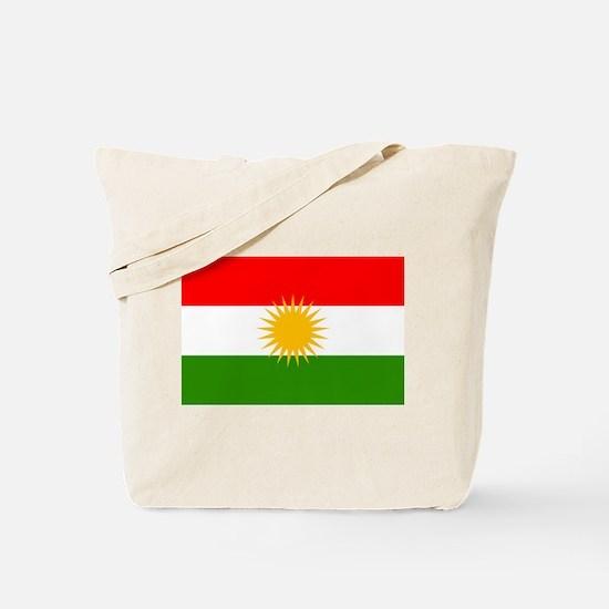 Kurdistan Flag Tote Bag