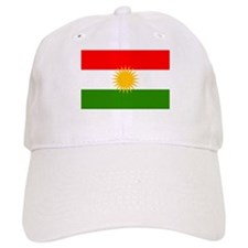 Kurdistan Flag Baseball Cap