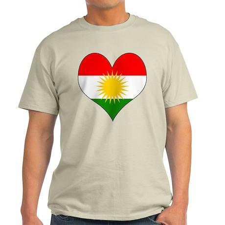I Love Kurdistan Light T-Shirt