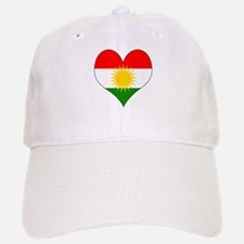 I Love Kurdistan Baseball Baseball Cap