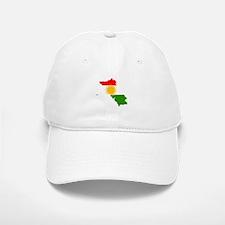Kurdistan Flag Map Baseball Baseball Cap