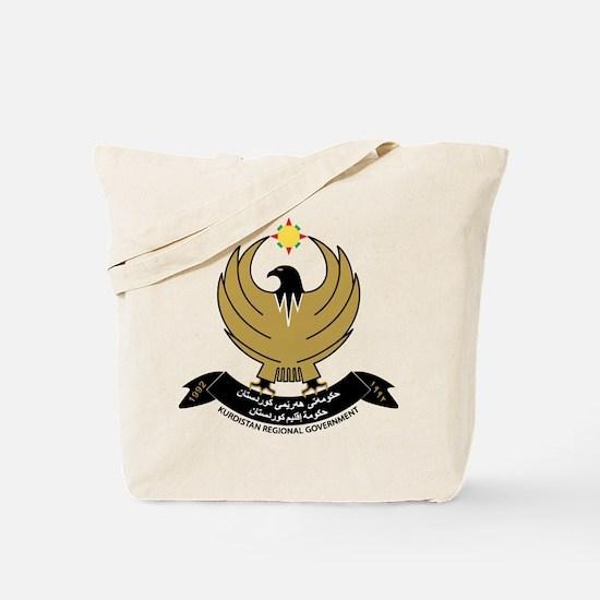 Kurdistan Coat of Arms Tote Bag