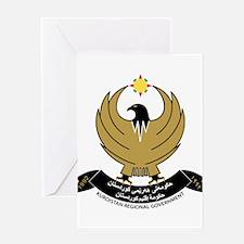 Kurdistan Coat of Arms Greeting Card