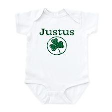 Justus shamrock Infant Bodysuit