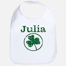 Julia shamrock Bib