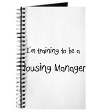 I'm training to be a Housing Manager Journal