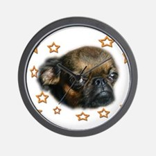Smooth Brussels Griffon Wall Clock