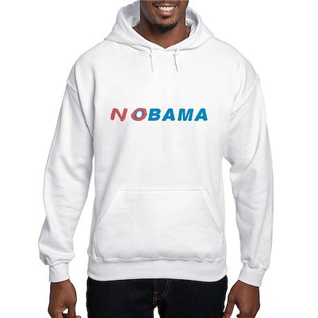 No Obama Hooded Sweatshirt
