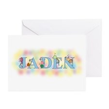"""""""Jaden"""" with Mice Greeting Cards (Pk of 10)"""