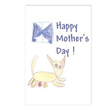 Cat's Meow! Mother's Day Postcards (Package of 8)