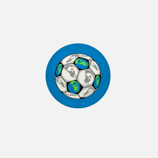 World Soccer Mini Button