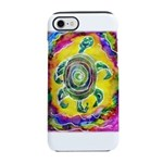 Abstract Turtle iPhone 7 Tough Case