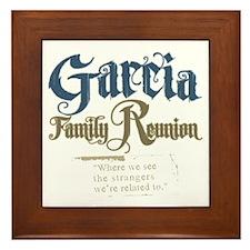 Garcia Family Reunion Framed Tile