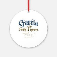 Garcia Family Reunion Ornament (Round)