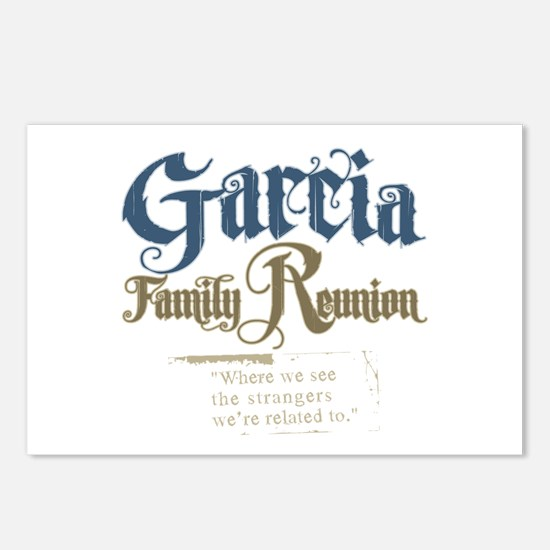 Garcia Family Reunion Postcards (Package of 8)