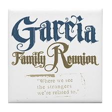 Garcia Family Reunion Tile Coaster