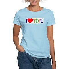 I Love Tofu Women's Light T-Shirt