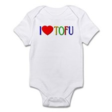 I Love Tofu Infant Bodysuit