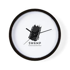 Unique Independent media Wall Clock