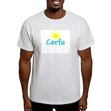 Corfu - Ash Grey T-Shirt