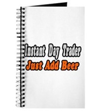 """""""Day Trader..Add Beer"""" Journal"""