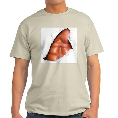 Beefy! Ash Grey T-Shirt
