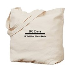 100 days Tote Bag