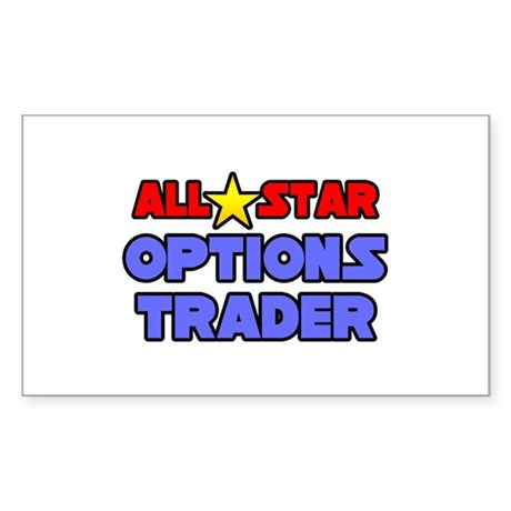 """All Star Options Trader"" Rectangle Sticker"