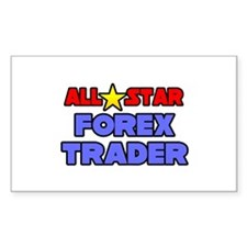 """""""All Star Forex Trader"""" Rectangle Decal"""